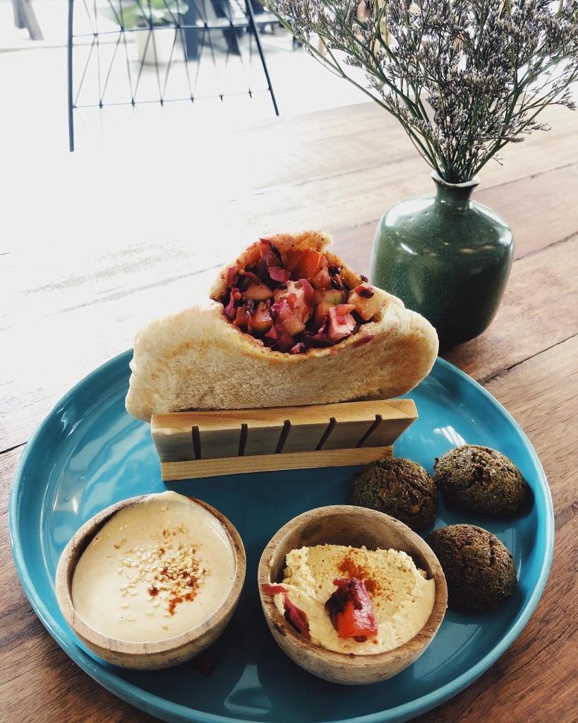 Falafel Hummus Tahini